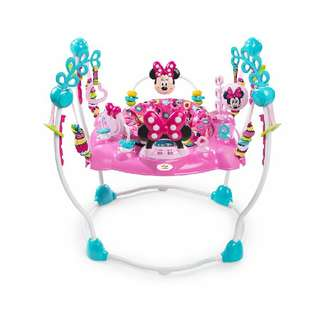 Minnie Mouse jumping jolly/bouncer