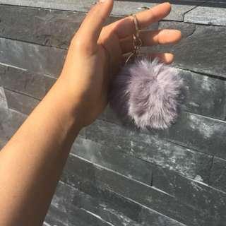 Pompom keychain