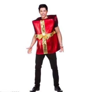 MENS LADIES GIANT FUN CHRISTMAS GIFT NOVELTY XMAS FUNNY FANCY DRESS COSTUME