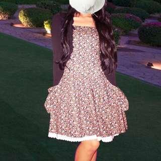 FREE BLAZER + Candies Floral Dress For Sale