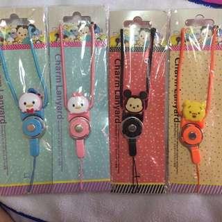 Tsum Tsum / Coney / Doraemon Charm Lanyard gift
