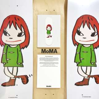 Yoshitomo Nara Welcome Girl Skateboard *MOMA Edition - limited 奈良美智