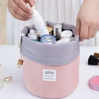 Makeup Bag Organizer Cosmetic Travel Kit Bathroom Storage Slightly Waterproof Carry Portable Toiletry Multifunctional Bags PINK