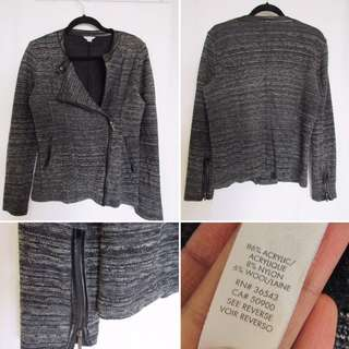 Calvin Klein zip up sweater - medium