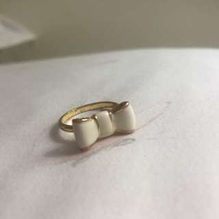 KATE SPADE bow ring size 7.5/8