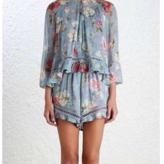 Zimmermann Havoc Floating Playsuit