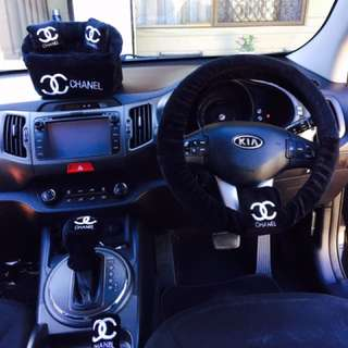 Chanel car Accesories set