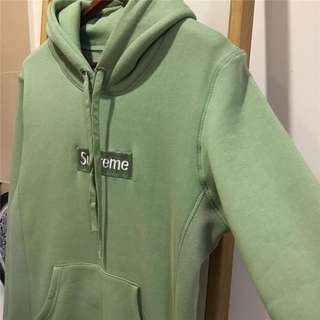 Supreme Motcha Green Hoodie