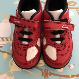 Clark's boys toddler shoes