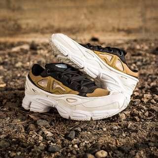 Adidas X Raf Simons Ozweego Bunny 2 White/Gold/Black Unisex