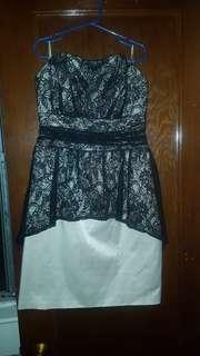 Guess Holiday Peplum Mini Dress - size 4