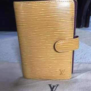 Louis Vuitton Epi Yellow Organizer
