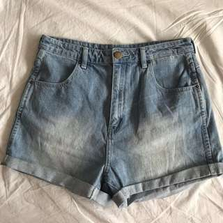 All About Eve high waisted shorts Size 10