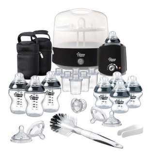 Tommee Tippee Closer to Nature - Black Essential Kit