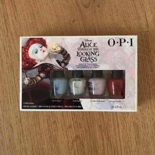 OPI Nail Polish Set -Disney Alice Through The Looking Glass BNIB