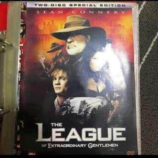 The League Of Extraordinary Gentlemen Movie DVD