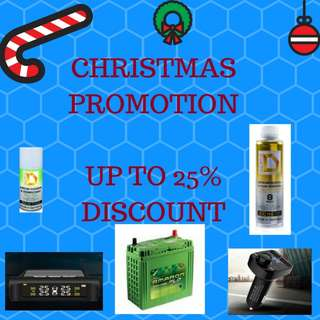 Up to 25% OFF : Amaron BATTERY, TPMS, DASHCAM, OIL BOOSTER, AIRCON CLEANER and ETC.