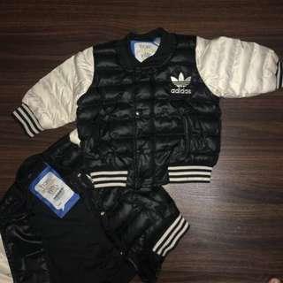 Brand New Adidas Baby Kids Bomber Jacket Original US Edition winter