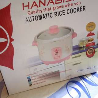Brand New Hanabishi Personal Rice Cooker