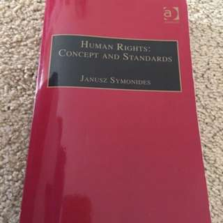 Human rights: concepts and standards