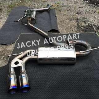 Muffler Exhaust Kakimoto Einsatz Golf MK5 GTI Jpn