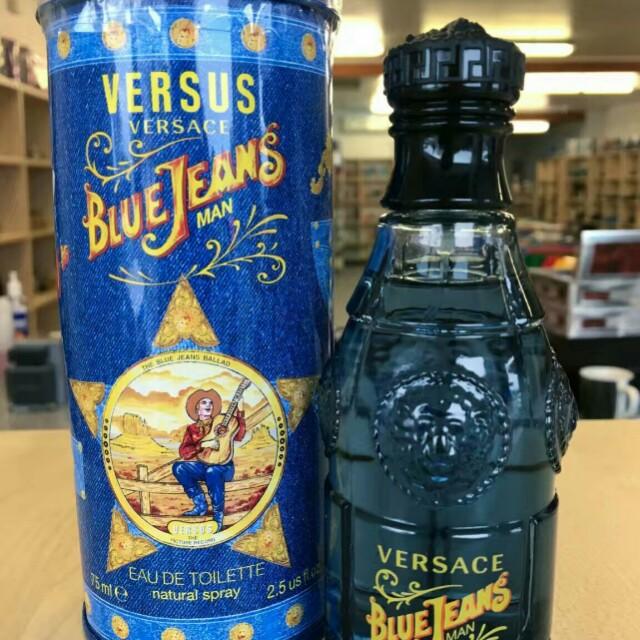 Edt Man Perfume Versus Jeans For Blue Versace 100Authentic 75ml TJc3lK1uF