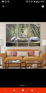 Buddha Picture Wall Art Canvas