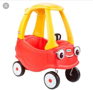 lightly used Little Tikes Cozy Coupe