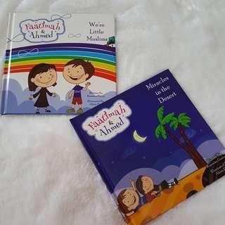 FAATIMAH AND AHMED ISLAMIC CHILDREN BOOKS