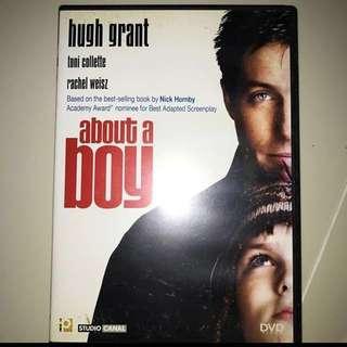 About A Boy Movie DVD