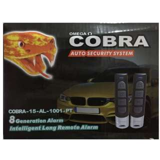 Cobra Auto Car Security Alarm System, Key Less Entry