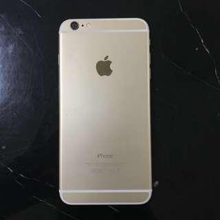 GOLD IPHONE 6 PLUS 64G + CASES