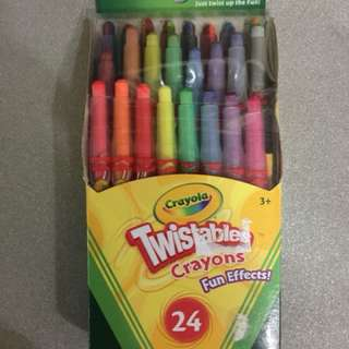 BN Crayola 24 Mini twistable crayons