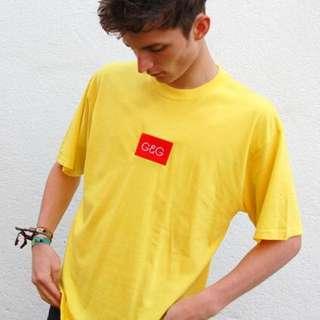 Unisex Yellow T Shirt