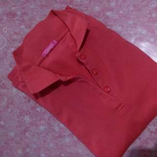Red Poloshirt