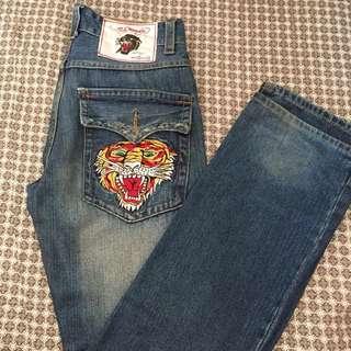 Men jeans (vintage tattoo wear )