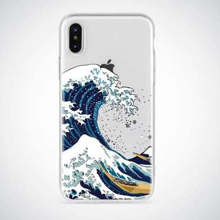 ⚜️WAVE SOFT CLEAR CASE FOR IPHONE⚜️