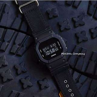 Montres Company香港註冊公司(25年老店) CASIO g-shock DW-5600 DW-5600BBN DW-5600BBN-1 有現貨 DW5600 DW5600BBN DW5600BBN1