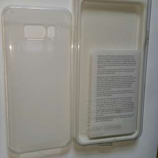 Samsung s8+ clear cover (authentic )