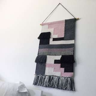 Knitted / Weaved Wall Hanging Mat Decoration