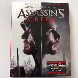 Assassin's Creed Blu-ray + Dvd Movie