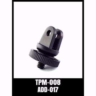 TPM-008 GoPro Accessories Tripod Mount Adapter