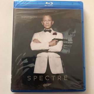 Spectre 007 Blu-ray Movie