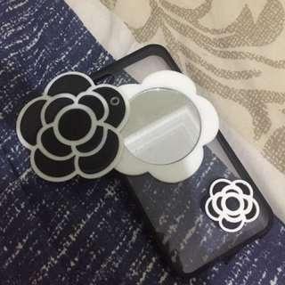 Flower mirror case ip5s