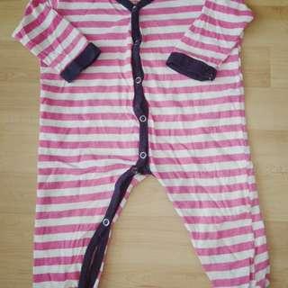 Carter's Baby Girl Sleepsuit 6-9 months