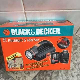 Black & Decker Tools Set
