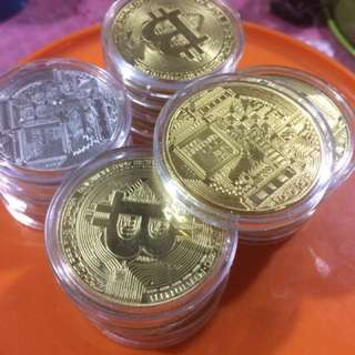 Bitcoin Gold , Silver & Litecoin