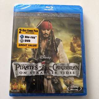 Pirates of the Caribbean 4: On Stranger Tide Blu-ray + Dvd