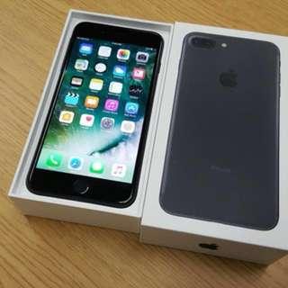 iPhone 7 Plus Matte Black 128gb 啞黑色