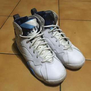 🚚 降價求售 二手 喬丹 7代 法國藍 Jordan Aj7 籃球鞋